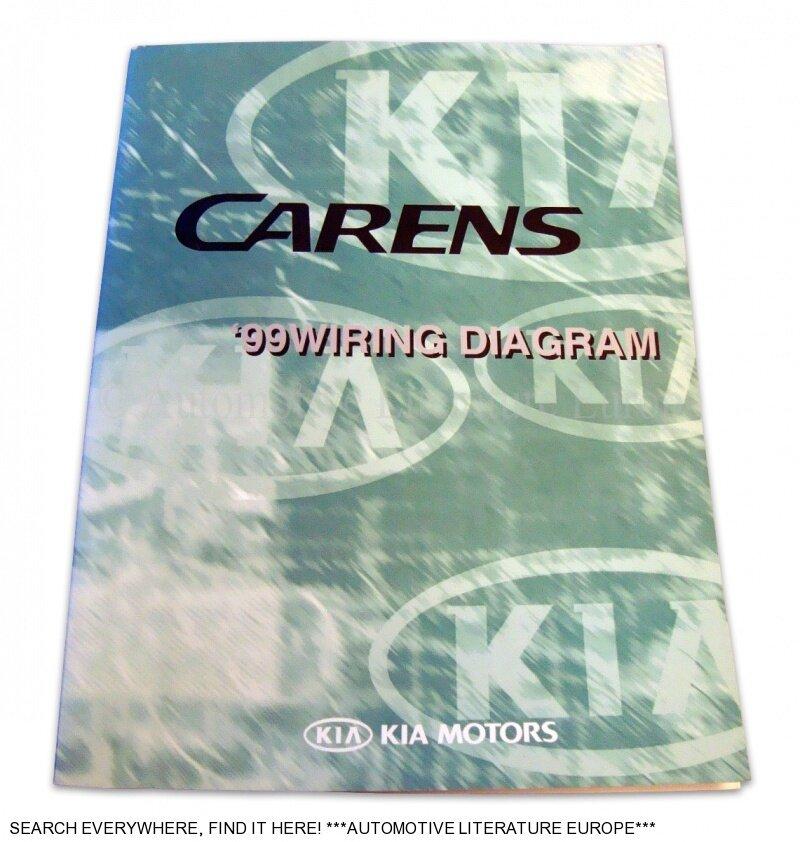 Kia Carens Electrical Wiring Diagram : Kia carens werkstatthandbuch elektrik schaltplan
