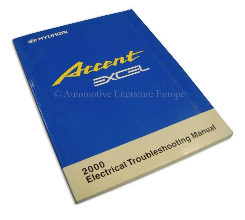 2000 HYUNDAI ACCENT EXCEL ELEKTRIK SCHALTPLAN HANDBUCH ELECTRICAL ...